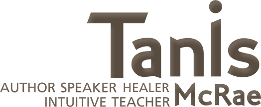 Tanis mcrae author speaker healer intuitive teacher logo