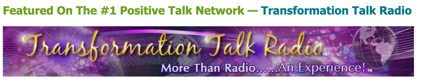 transformation talk radio banner purple